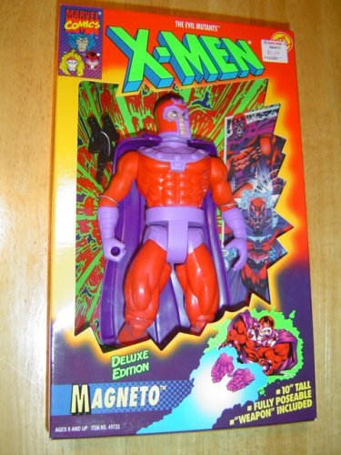 Marvel Comics X-Men Magneto 10 Deluxe Action Figure by Toy Biz