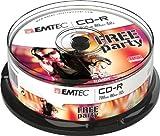 Emtec ECOC802552CB rekordable CD (52x Speed, 700MB)