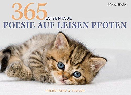 Tischaufsteller - Poesie auf leisen Pfoten: 365 Katzentage -