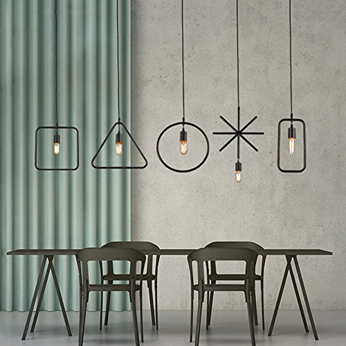 Lumière de plafond, Vintage Creative DIY - Design Lustre...