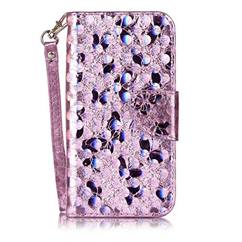 Nancen Wallet Case Hülle für Samsung Galaxy S5 / I9600 SM-G900F (5,1 Zoll) ,Schmetterling Muster Flip Funktion Kartenfächer Magnet Etui Samsung Galaxy S5 / I9600 SM-G900F (5,1 Zoll) (Marvel Zombies Youtube)