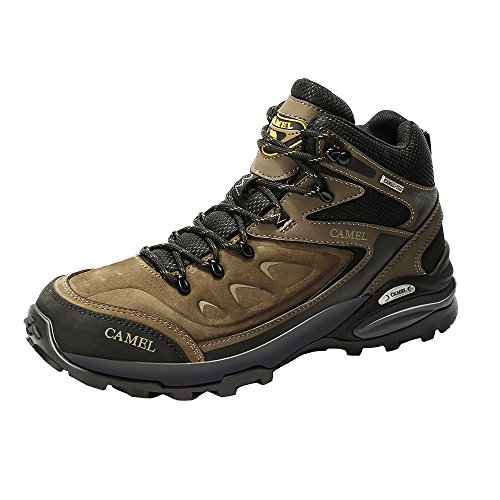 CAMEL Botas de Senderismo para Hombres Zapatillas de Escalada Confortables Antideslizantes y Resistentes...