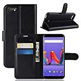 Happy-L Case for Wiko Harry 2/Wiko Tommy 3 Plus, PU Leather