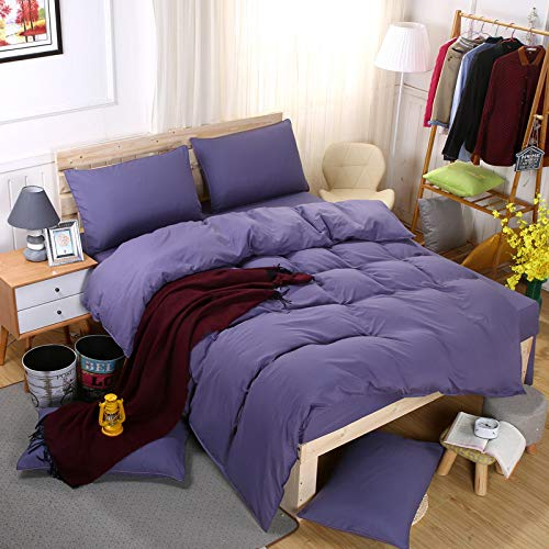 Used for Bed Solid Color Four-Piece Aloe Cotton Student Dormitory 1.8m Four-Piece Set