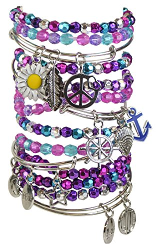 Just My Style Just My Style Charming Bangles Art and Craft, Multi Color