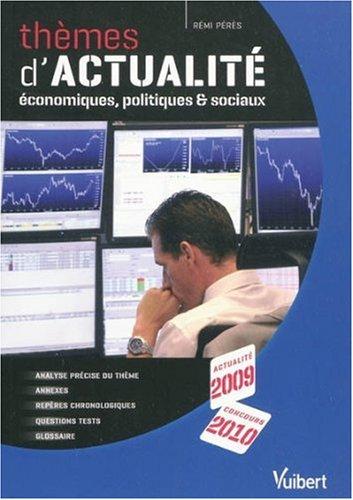 Themes d'actualites economiques et sociaux 2009/2010
