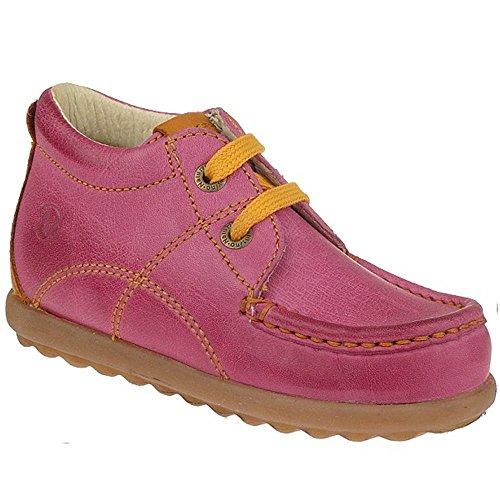 NATURINO Modell 4868 Lauflernschuh Halbschuh Leder in 3 Farben Gr.22-29 Pink