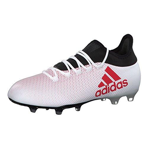 Preisvergleich Produktbild adidas Herren X 17.2 FG Fußballschuhe,  Mehrfarbig (Greyreacorcblack),  43 1 / 3 EU