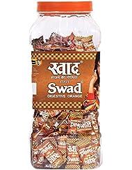 Swad Digestive Chocolate Candy, Orange, 300 Candies