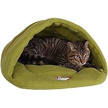 Camas Para Perros,World 9.99 Mall Cueva de mascotas Suave y cálida cama para gatos