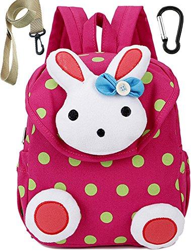 Tissu Sac A Dos Enfant Lapin Rose Bambin Cartable Maternelle Garderie PréScolaire(1-3ans)