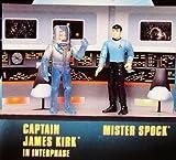 Star Trek Collector Set mit Captain Kirk in Interphase und Mister Spock Episode