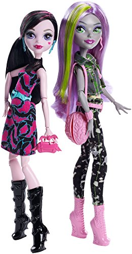 Image of Welcome to Monster High Moanica D'Kay & Draculaura Monstrous Rivals 2 Doll Pack