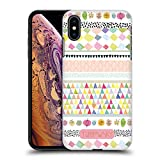 Official Turnowsky Pattern Sky Blue Pink Hard Back Case for iPhone XS Max
