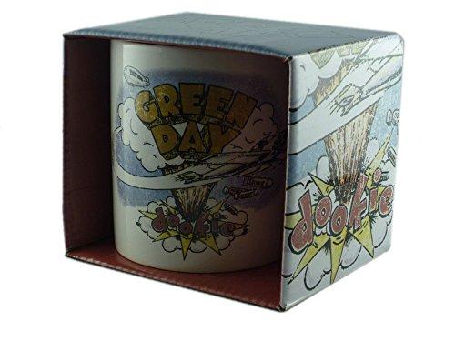 Green Day-Tazza in ceramica-Dookie-confezionato in una confezione regalo.