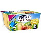 Nestlé p'tits fruits pomme ananas 4x100g dès 6 mois - ( Prix Unitaire ) - Envoi Rapide Et Soignée