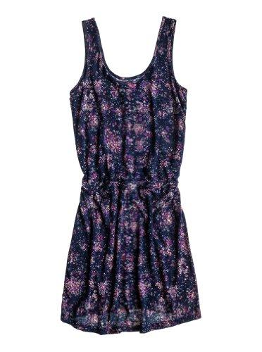 Roxy panama robe pour femme Bleu - Bleu marine/imprimé Pretty Dist