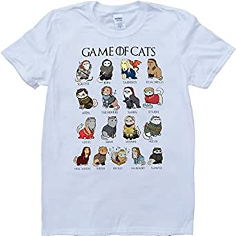 Game of thrones game of cats funny scoop neck custom made for Amazon custom t shirts