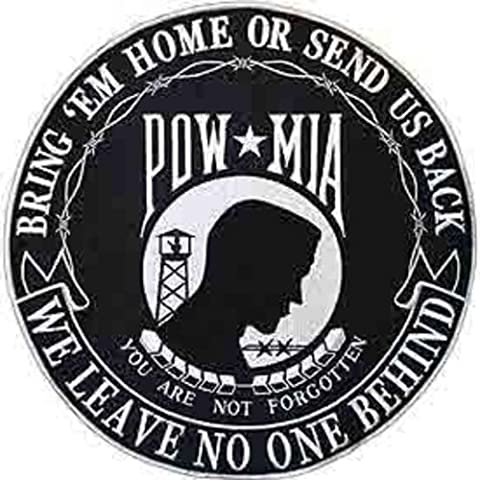 Findingking POW MIA Protection Tour Patch 20,3 cm