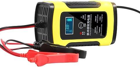 LEO565TOM Batterie-Ladegerät und Erhaltung Vielseitiges Batterieladegerät für Motorrad Batterien & Bleiakkus mit 12V6A