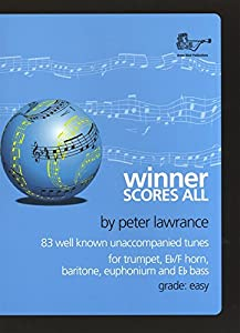 Winner Scores All (Treble Clef) Book & CD (Suitable for Trumpet, Baritone, Euphonium & Trombone)