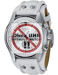 Fossil Uhrband LB-CH2592 Original Lederband CH 2592