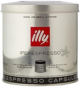illy Iperespresso Medium Roasted 21 Espresso Capsules, 140.7g (Pack of 1, Total 21 Capsules)