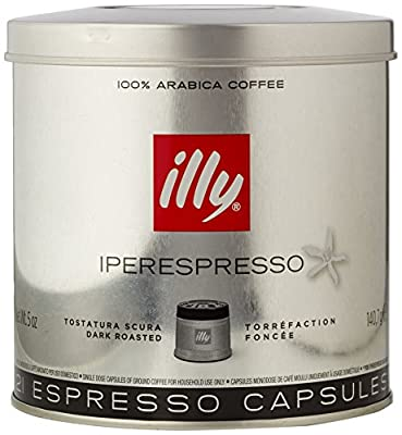 illy Iperespresso Medium Roasted 21 Espresso Capsules, 140.7g (Pack of 1, Total 21 Capsules)