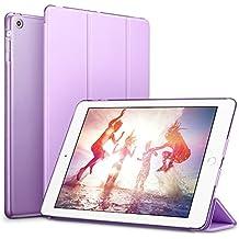 iPad Mini Funda Carcasa, iPad Mini 3/2/1 Funda, ESR Yippee Serie Color iPad Mini Transparente Volver Ultra Delgado despertador automático Arriba / sueño de Smart Funda Tri-fold protectora Funda para iPad Mini 3/2/1 (Lavanda Fragante)