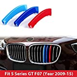 BMW 5Series 2010–2016GT F07m Power m sport Tech Bonnet Hood Rene griglia Trim fibbia clip in inserti a righe strisce copertura decorazione