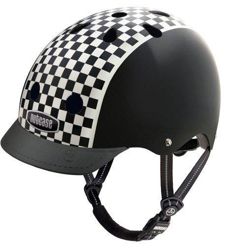 Nutcase NTG3 - Casco de ciclismo unisex multicolor Checkerboard Talla:M (56 - 60 cm)