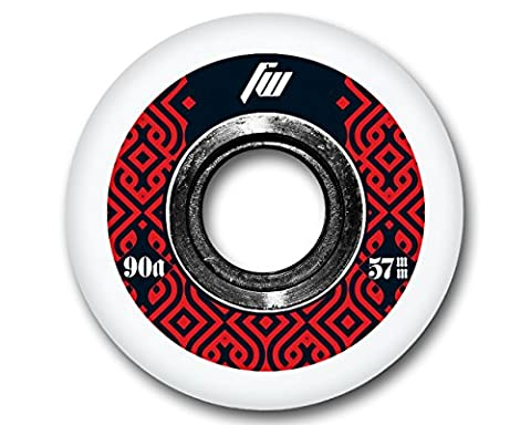 4-Pack Roues de roller, Skateboard Aggressive 57mm 90A 1117576