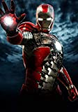 Generic Iron Man: 2 Film Foto Poster Textless Film Kunst Tony Stark Marvel Imax 001 (A5-A4-A3) - A3