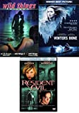 Shocking 5 Feature DVD Horror / Dark Women Resident Evil / Winter's Bone Jennifer Lawrence + Wild Things Triple Movie Collection 1/2/3 Diamonds in the Rough Pack