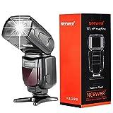 Neewer® NW - 562C E-TTL Blitz Blitzlicht Speedlite-Kit für Canon DSLR-Kameras, Kit inklusive: 2x NW562C Blitz + 1x FC-16 2.4GHz Wireless Auslöser (1 * Transmitter+2 * Empfänger) + 1x Mikrofaser Reinigungstuch