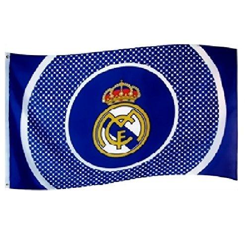 DRAPEAU OFFICIEL FC REAL MADRID NEUF TAILLE 150X90 CM FOOTBALL LIGA 8bc268d972067