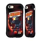 Head Case Designs Officiel Justice League Action Darkseid Art Personnages Coque Hybride Compatible avec iPhone 7 / iPhone 8