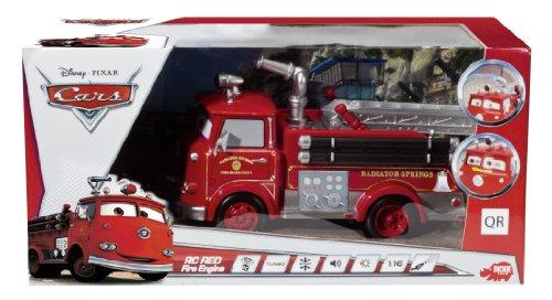 RC Auto kaufen Feuerwehr Bild 3: Dickie Spielzeug 203089549 - RC Disney Cars, Red Fire Engine, 3-Kanal Funkfernsteuerung, 29 cm, rot*