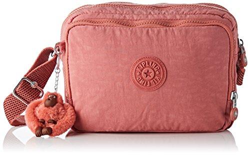 Kipling Silen, Women's Cross-body Bag, Pink (Dream Pink), 11x24x18 Cm (B X H T)