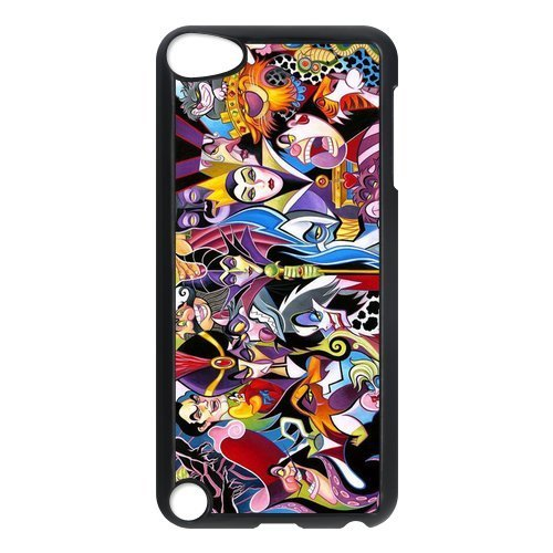 FEEL.Q- Disney Movie Maleficent Sleeping Beauty Cartoon iPod Touch 5 case, Hard Plastic Case Cover for Apple iPod Touch 5th Generation (Disney Ipod Touch)