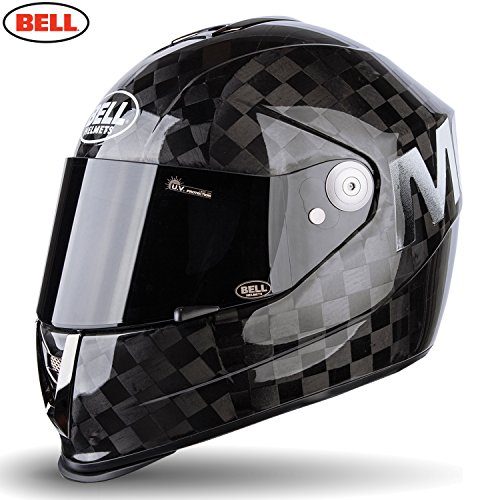 Bell Helmets Street 2015 M6 Carbon Casco Adulto, color Negro Solido Mate Square, talla S
