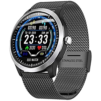 H-sunshy N58 Smart Watch Reloj Deportivo ECG + PPG ECG HRV ...