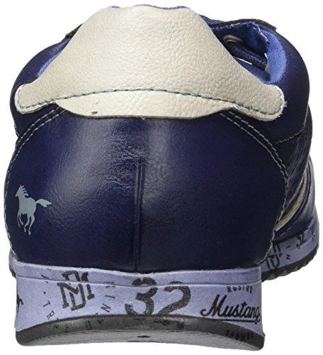 Mustang 1226-304 Damen Sneakers Blau (800 dunkelblau)