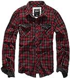 Brandit Checkshirt Duncan Red-Brown XL