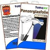 tomaxx Samsung Galaxy J7 DUOS J730 2017 Panzerglas Panzerglasfolie Glasfolie Displayschutz brillante Qualität