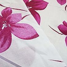 """100% algodón impreso floral blanca 41 """"Tela ancha Confección del algodón por la Metro"""
