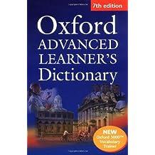 Oxford Advanced Learners Dictionary : 7th edition (1Cédérom)