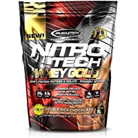 MuscleTech Performance Series Nitrotech 100% Whey Gold - 1 lbs (454g) (Double Rich Chocolate)