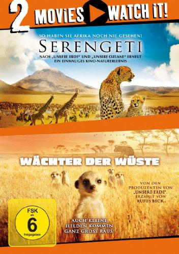 Serengeti/Wächter der Wüste [2 DVDs]