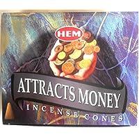 HEM Räucherkegel Attracts Money 12x10 Stück=120 preisvergleich bei billige-tabletten.eu
